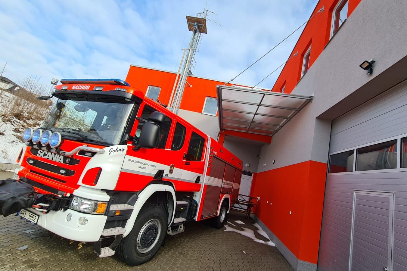 V Náchodě mají hasiči nejmodernější výstražné zařízení